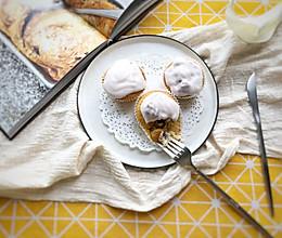 清香扑鼻大果粒酸奶麦芬蛋糕—ukoeo风炉制作的做法