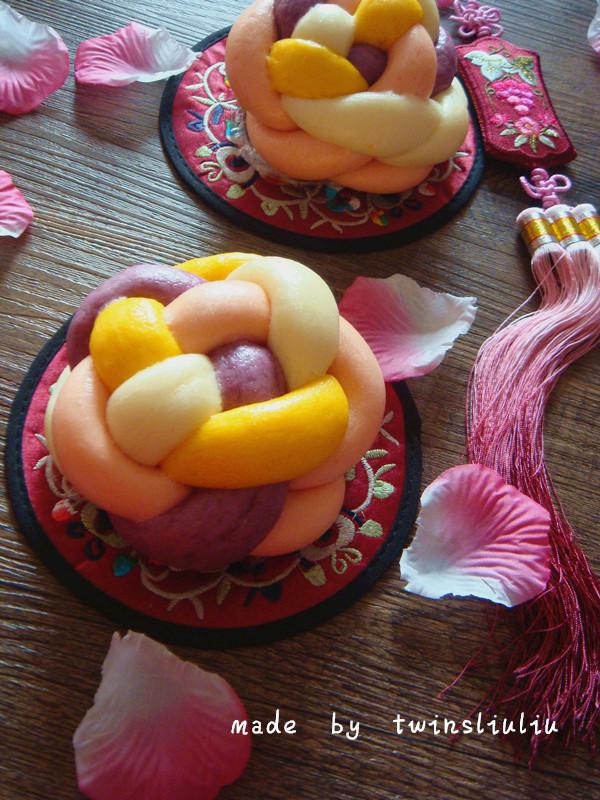花样面食绣球馒头的做法