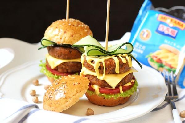 """没有肉的""""牛肉""""汉堡!Mini素汉堡!的做法"""
