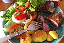 #一周减脂不重样#健康又简单的煎牛排的做法