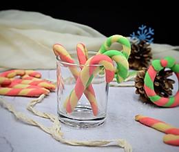 #令人羡慕的圣诞大餐#拐杖饼干的做法