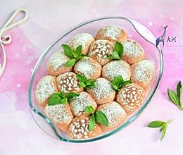 甜菜根全麦粉嫩小餐包#松下多面美味#的做法