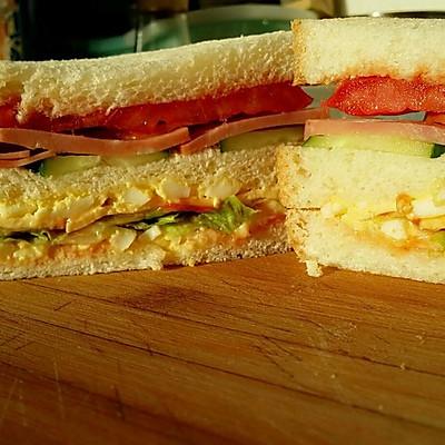 早餐芝士三明治
