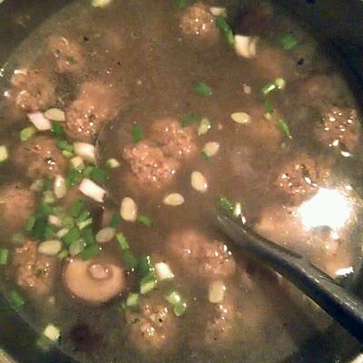 肉丸香菇清汤