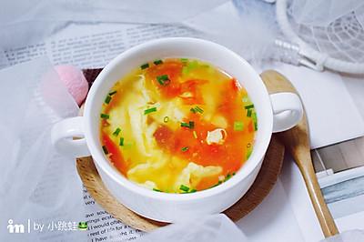 家常番茄蛋花汤