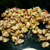 肉粒辣豆角   肉末豆角的做法图解2