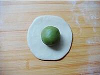 抹茶绿豆酥的做法图解4