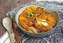 日式酱汁猪排盖饭的做法