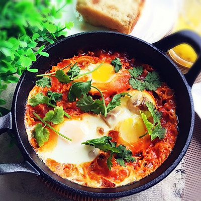 快手早餐~北非蛋