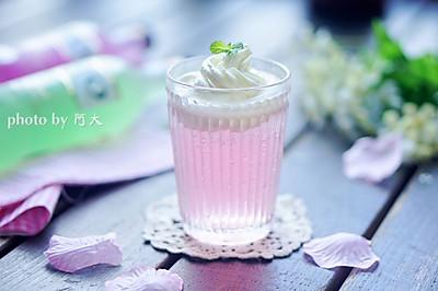 雪顶鸡尾酒#七彩七夕#