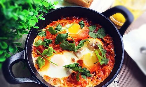 快手早餐~北非蛋的做法
