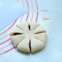豆沙花型面包的做法图解7