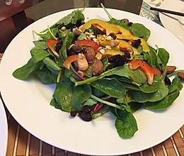 甜菜叶沙拉的做法