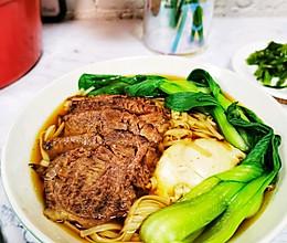 简单快手的美味红烧牛肉面的做法