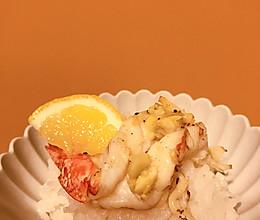做一只简单的虾-轻食蒜香黄油烤虾的做法