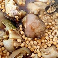 #橄榄中国味 感恩添美味#黄豆焖猪蹄 养颜又补钙的做法图解7