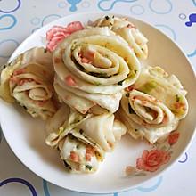 火腿肠香葱花卷