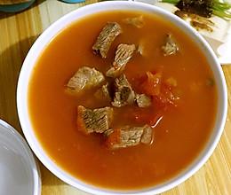 牛肉(牛腩)柿子的做法