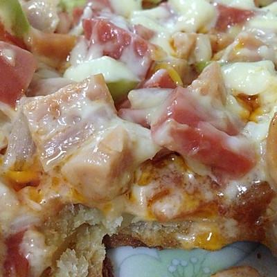 甩必胜客一百条街的披萨(煎锅版)