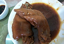 卤汁猪蹄的做法