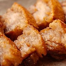 【脆皮五花肉】五花肉这样烧,简直像在吃炸鸡!