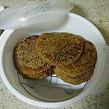 红薯豆沙饼