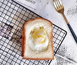 3分钟早餐—培根芝士蛋吐司的做法