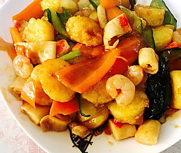 适合儿童吃的三鲜日本豆腐的做法