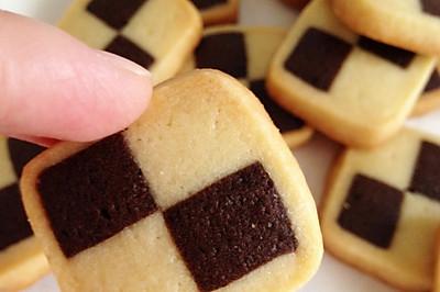 双色小棋格饼干#长帝烘培节#