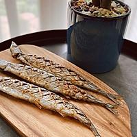 快手菜—烤箱版—孜然秋刀鱼的做法图解10