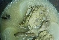 白萝卜羊煲汤的做法