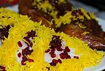 藏红花米饭的做法