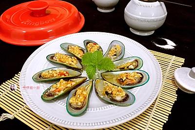 坤博砂锅空烤—青口贝