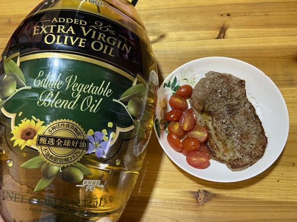 金龙鱼橄榄油之香煎菲力牛排的做法