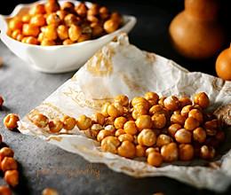 盐焗鹰嘴豆的做法