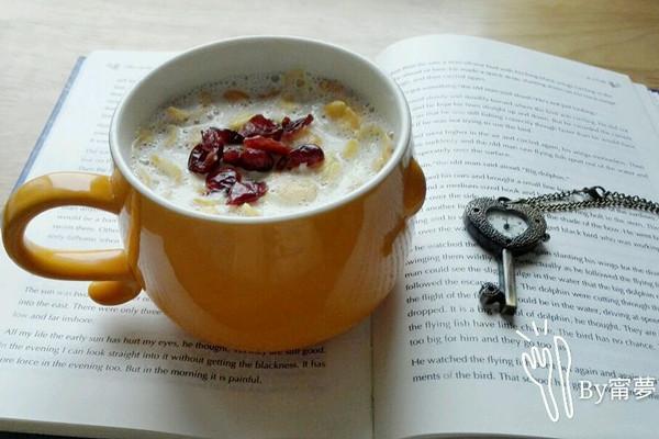 蔓越莓鸡蛋燕麦粥的做法