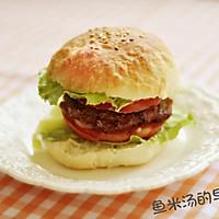 家常版清爽鸡肉汉堡,营养早餐and深夜食堂