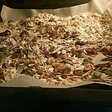 坚果燕麦片