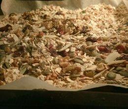 坚果燕麦片的做法