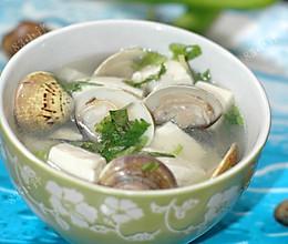 豆腐蛤蜊汤的做法