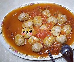 番茄肉圆的做法