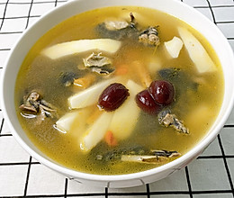 #我们约饭吧#椰子鸡汤的做法