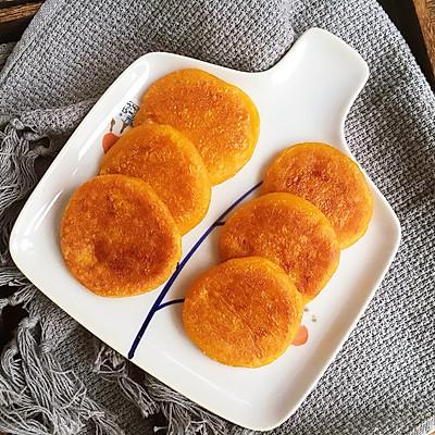 口感软糯好吃的南瓜饼