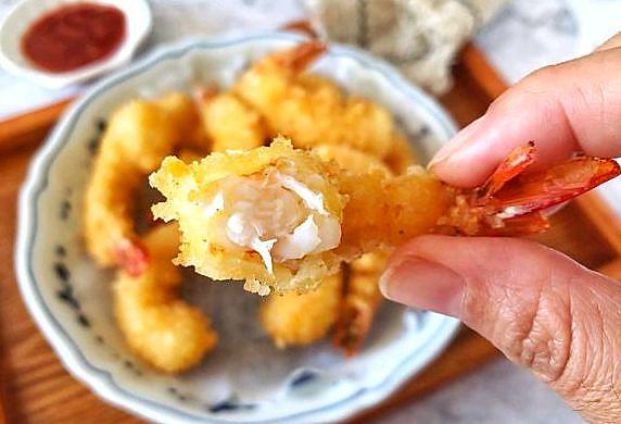 黄金脆皮虾,保证香嫩酥脆,省时便利又好吃!!!的做法