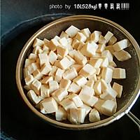 青菜火腿豆腐羹的做法图解6