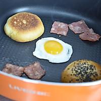 5分钟汉堡#利仁美食穿越#的做法图解2