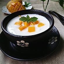 芒果酸奶 #美的电炖锅#