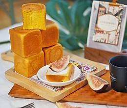 创意面包 迷你小吐司,炼乳奶香南瓜吐司#硬核菜谱制作人#的做法
