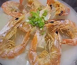 冬瓜干虾汤的做法