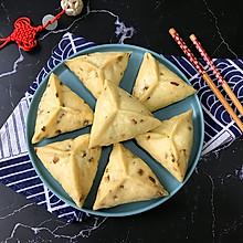 #钟于经典传统味#红枣核桃芝麻糖三角